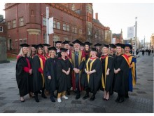 First student cohort to graduate from Northumbria's Postive Behavioural Support programmes