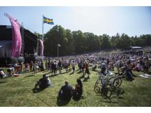 Folkfest i Hagaparken på Nationaldagen 6 juni