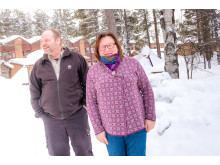 Roland Harnesk och Britt-Inger Tuorda