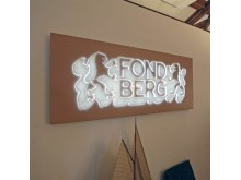 ljuskylt Fondberg