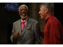 Morgan Freeman med Julio Bermudez