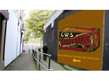 How the Baum ginnel could look with an old advert