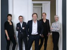 Managing Team von Superunion Germany in Hamburg und Berlin gemeinsam mit CEO Tobias Phleps