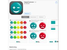 HappyCustomer - Kundundersökning finns nu för iPad på App Store