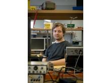 Karl-Johan Fredén Jansson, post doc på institutionen för elektroteknik vid Chalmers