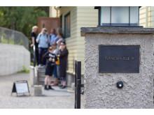 Dronning Sonjas barndomshjem sto opprinnelig i Tuengen allé på Vinderen i Oslo, før det ble flyttet til friluftsmuseet Maihaugen på Lillehammer