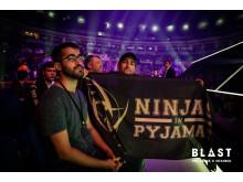 NiP fans i Ülker Arena