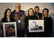 Eggstockfestivalen og Slottsfjell vant Årets plakat og Årets konsertbilde 2016