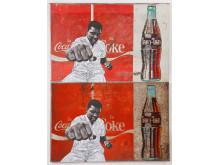 Pakpoom Silaphanin Coca-Colaa esittävä teos