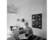 Eget rum, 1955. Foto Gösta Glase, © Nordiska museet.