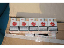 Op Gloaming NW22/14 Cigarettes seized in Manchester