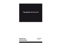 """Ny bok: """"Jag glömde tid och rum"""""""