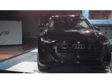 Audi Q8 pole crash test Dec 2019
