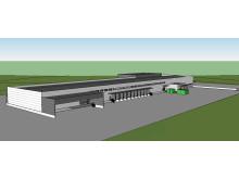 Posten og Brings nye terminal i Narvik