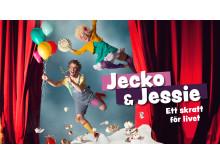 Jecko & Jessie – Ett Skratt För Livet