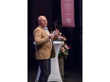 Regiondirektören Peter Lindvall, talade engagerat om Gotlands möjligheter-