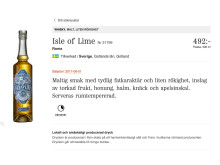 Isle of Lime Roma - produktbild Systembolaget