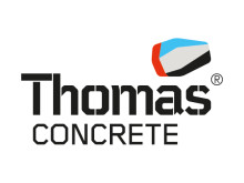 Ny logo för Thomas Concrete Inc (USA)
