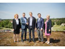 Fastighets AB Balder blir tung partner i Väsby Entré
