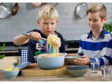 Barn och unga gillar sjömat