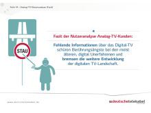 Infografik: Wer bremst die Entwicklung der digitalen TV-Landschaft?