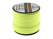 Poly-Light-8 neon-gul, 4 mm x 12 m, spole