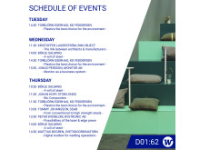 Elmia Subcontractor 2019 - Weland Group Schedule of Events