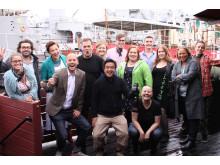 Havskampen till förmån för Ung Cancer - kick-off för insamlingskampanj på Kajskjul8