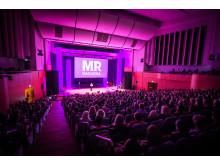 MR-logga och publik