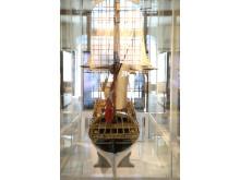 Sømagt Model af linjeskibet FYEN Foto Henrik Schilling Nationalmuseet