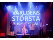 Vindstyrka 12 på Pustervik under Världens största musikfestival