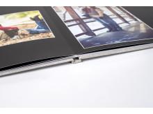 Ny förbättrat Lay-flat bindning för fotoböcker
