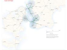 Öresund 2070 - Supercykelväg