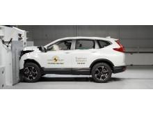 Honda CR-V Frontal Full Width test