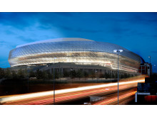 Tele2 Arena - night