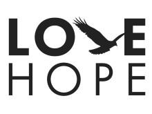 Logotyp, LoveHope, två rader
