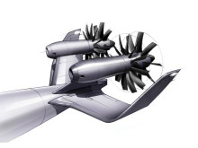 The aircraft engine concept open rotor