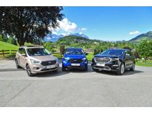 Allrad-SUV-Palette