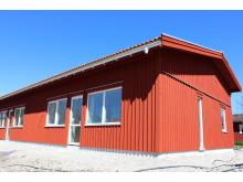 Nybygge vid Hovsliden i Hackås