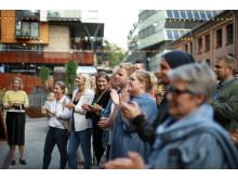 Det ble arrangert gatefest i anledning relanseringen av PS:hotel by Nordic Choice.
