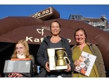 Charlotte Pehn ble årets vinner i NM i Slappa