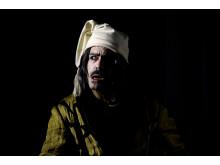 Casper Crump spiller Albert Fetisen i Frilandsmuseets vesion af Et Juleeventyr 14. november - 21. december