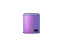 Samsung Galaxy Z Flip_closed front_purple mirror