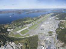 Panoramabilde Bergen lufthavn, Flesland