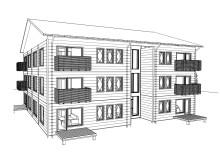 Nya lägenheter i centrala Gällivare