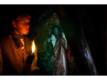 Dalarna, Halloween Falu Gruva. foto Falu Gruva