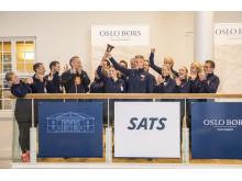 SATS sprang till börsen