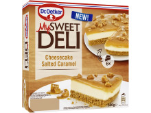 Salted Caramel Cheesecake - My Sweet Deli