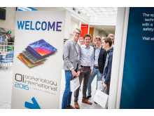 High res image - OINA 2017 - Students visiting Oceanology International 2016 in London for Careers Day