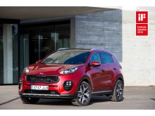 iF Design Award 2016 till nya Kia Sportage
